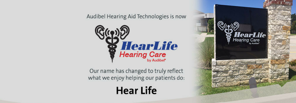 Our name has changed to HearLife Hearing Care, however our service and quality that we deliver to the Tyler and Canton area has not.